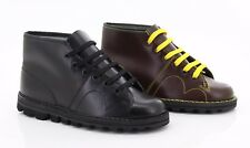 New Original Monkey Boots 1960'z Genuine Leather Retro Black Wine Fashion Casual