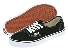 NEW VANS AUTHENTIC BLACK WHITE Origianl Classic Men