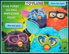 Furby FRAMES GLASSES & STICKERS Accessories for Interactive Electronic Toy Style