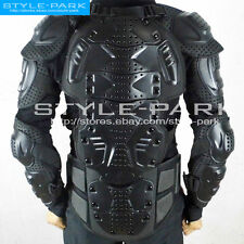 New Motorcycle Armor Black Armour Jacket Body Guard Bike & Motocross Gear Black