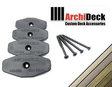 ArchiDeck Hidden Deck Decking Fasteners - Concealed Fixings