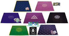 TAROT CLOTH VELVET LO SCARABEO PENTACLE WICCA PAGAN LABYRINTH MOON STARS CARDS