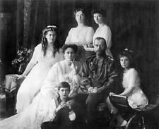 TSAR NICHOLAS II FAMILY GLOSSY POSTER PICTURE PHOTO anastasia russia decor 1845