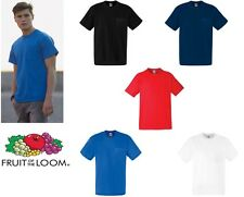 Fruit of the Loom Heavy Pocket Tee All Colours & Sizes