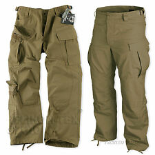 HELIKON SPECIAL FORCES (SFU) TACTICAL PANTS, ARMY COMBAT CARGO TROUSERS, COYOTE