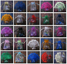 11X16CM Quality Wedding Decorating Organza Jewellery Candy Gift Bag Pouch UK