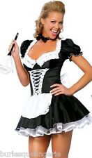 Sexy French Maid Costume - One Size Fits Most (8-12) -  Aussie Seller
