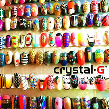 BARGAIN PACKAGE DEALS FROM CRYSTAL-G UV/LED GEL NAIL POLISH SALON STYLE