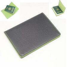 New Mens Wallet KOREA -152 Travel Bifold Passport Leather Cover Holder Purse Hit