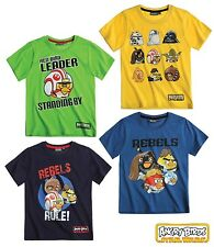MAGNIFIQUE TEE SHIRT ANGRY BIRDS STAR WARS TAILLE 8 ANS (128/134 cm) * NEUF *