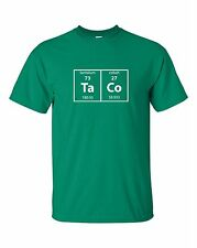 Taco T-shirt Funny Mexican Food Science Combo Tee Tacos