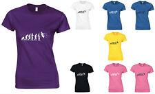 Evolution of SuperHero, Marvel and DC Inspired Ladies Printed T-Shirt