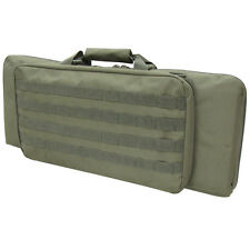 "Condor 150 Tactical Padded 28"" SBR Carbine Rifle Case with MOLLE OD Black Tan"
