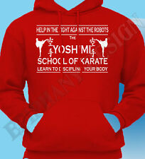 The Flaming Lips Inspired Yoshimi Karate School Wayne Coyne Hoody Hoodie T-Shirt