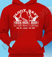 Bruce Springsteen Inspired Inspired Hoody Hoodie T-Shirt Glory Days The 80s Boss