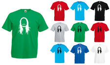 Steve Aoki Silhouette, Electro, House, Music Inspired Men's Printed T-Shirt