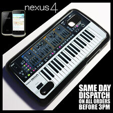 Cover for Google Nexus 4 LG E960 Synth Keys Keyboard Instrument Case }9019