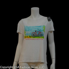 Abercrombie & Fitch Women's Short Sleeve Tshirt 2 White NWT