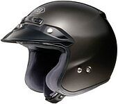 *Ships Same Day*  Shoei RJ Platinum-R (Anthracite) Open-Face Motorcycle Helmet