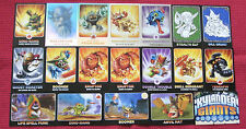 NEW TOPPS SKYLANDERS GIANTS CHOOSE CARDS LIMITED EDITION RAINBOW FOIL BASE ETC