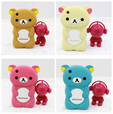 CUTE 3D BEAR RUBBER SILICONE CASE COVER FOR IPHONE 3 3GS