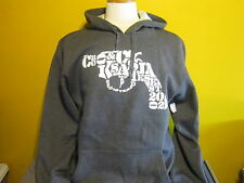 CROOKS AND CASTLES 38. SNUB NOSE HOODIE GREY PICK SIZE