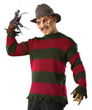 Freddy Krueger Sweater Nightmare Elm Street Halloween Adult Costume Accessory