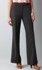 NWT New $69.50 Ann Taylor Loft Tall Julie Pants Size 4 Tall Black / Dark Grey