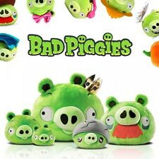 NEW OFFICIAL ANGRY BIRDS (BAD PIGGIES) LICENSED PLUSH TOY COLLECTION LOT