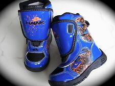 Blue Winter Boots Waterproof Thermolite Insoles by Tony Hawk Toddler Size 7  NEW