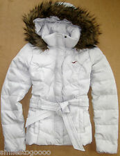 NWT Hollister HCO Women's Down Feather Jacket Coat Outwear Authentic!
