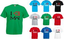 I Heart Modern Warfare, Call oF Duty Modern Warfare inspired Men's T-Shirt