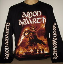 Amon Amarth Surtur Rising long sleeve T-Shirt Size S M L XL 2XL 3XL Death Metal