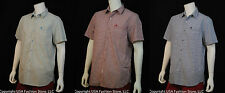 NWT Timberland Men's Shirts Short Sleeve Micro Check Multi 3 Colors