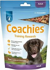 Coachies Dog Training Treats / Chews for Adult and Puppy small / large pack s