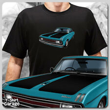 Illustrated Chrysler VALIANT VG PACER COUPE T-SHIRT - Classic Aussie Muscle Car
