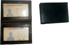 New Slim Leather Credit Card, ID card. picture Holder, 2 transparent windows