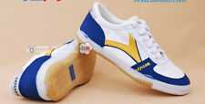 Warrior Shoes WXY-8 Classic Canvas Tennis White Yellow from 1930s Shanghai Brand