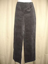 Evan Picone Black Stretch Velvet Flat Front Dress Pants NEW RETAIL IN STORES $79
