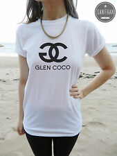 * GLEN COCO YOU GO MEAN GIRLS T-shirt Top White Black Grey TUMBLR DOPE SWAG*