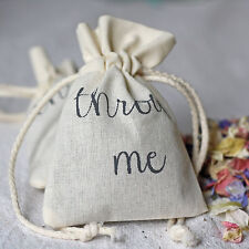Throw Me Confetti Bags | Cottn Bags For Wedding Petal Confetti