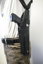 Colt 1911 Govvt,  GSG 1911  Vertical Shoulder Holster with Double Mag Pouch