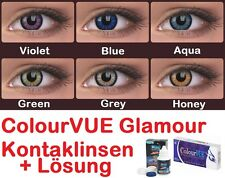 ColourVUE Glamour Coloured Contact Lenses Farbige Kontaktlinsen Choose Design