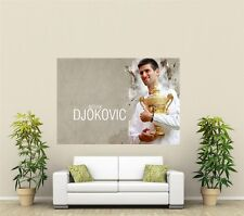 Novak Djokovic Tennis Giant 1 Piece  Wall Art Poster SP170