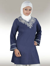 Buy Arfa Tunic KRF019 Long Kurtis Tops Islamic Modest Clothing for Muslim Women