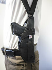 Astra A80, A90, A100,Constable   Vertical Shoulder Holster with Double Mag Pouch