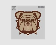 MSM Bulldog Head - Small Morale Patch with Velcro Backing Patch035
