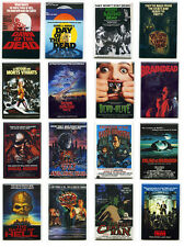 ZOMBIE MOVIE POSTER MAGNETS (w/ Night Dawn Day Return of the Living Dead + MORE)