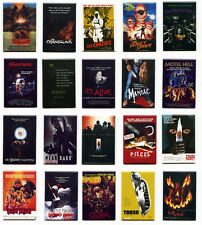 CULT HORROR MOVIE POSTER MAGNETS w/ pieces maniac near dark squirm torso & more!