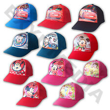 Disney Basecap Cap Mütze Lizenz Kinder Pixar Cars Princess Mickey Minnie Mouse